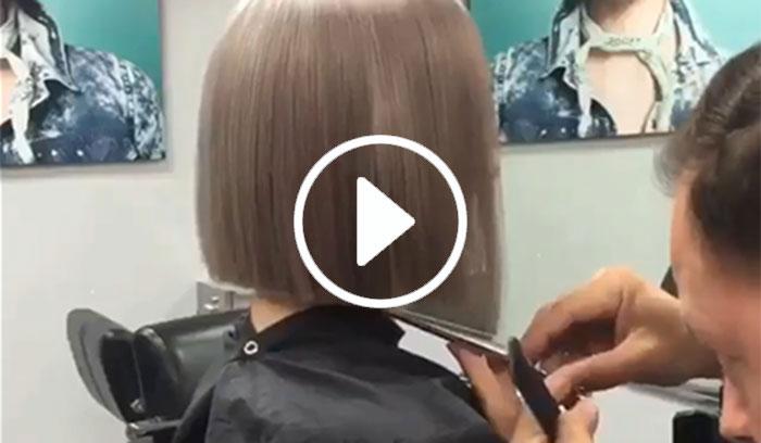 آموزش کوتاهی مو در آرایشگاه
