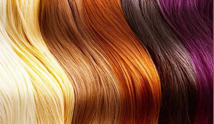 رنگ مو عروس رنگ پوست