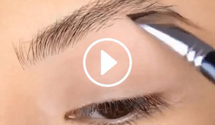 ویدیو آموزش طراحی ابرو