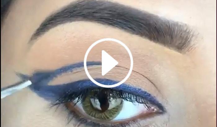 ویدیو آموزش آرایش چشم