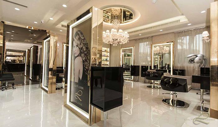 بهترین آرایشگاه و سالن زیبایی