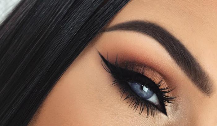 جدیدترین آرایش چشم دخترونه