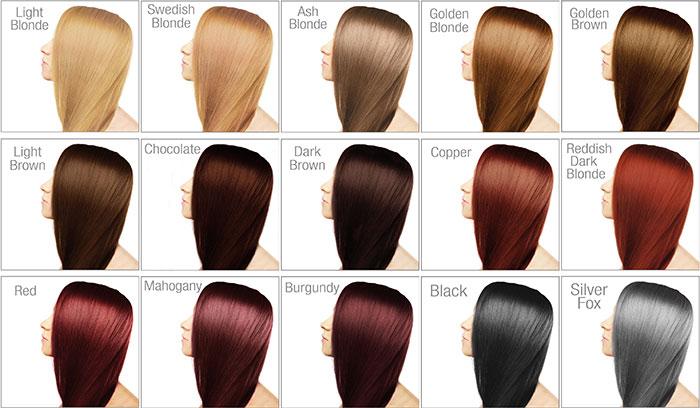 انواع پایه رنگ مو