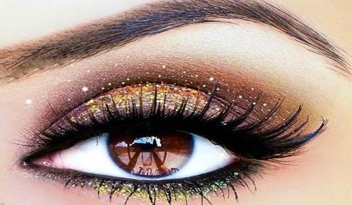 ترکیباتی زیبا برای آرایش چشم