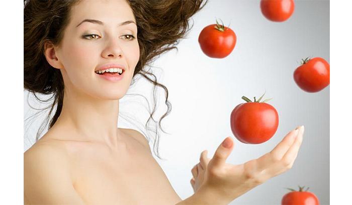 ماسک گوجه فرنگی برای لایه برداری