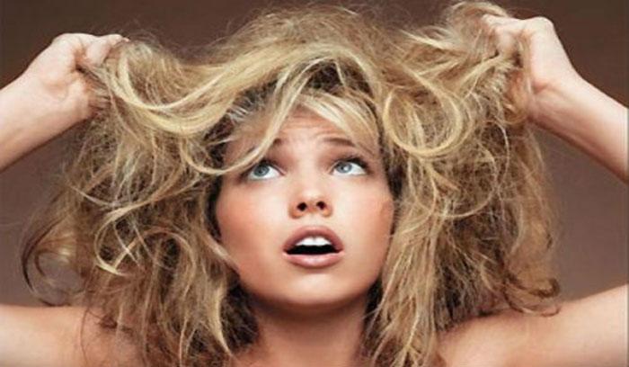 درمان موی سوخته با دکلره