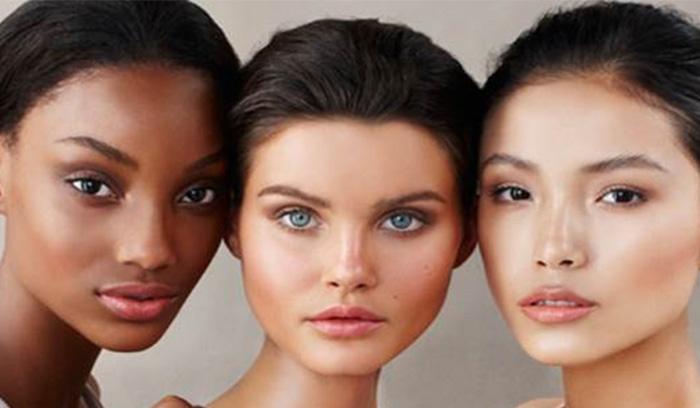تفاوت رنگ پوست