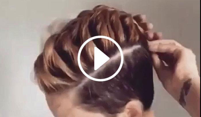 ویدیو آموزش بافت موی کوتاه