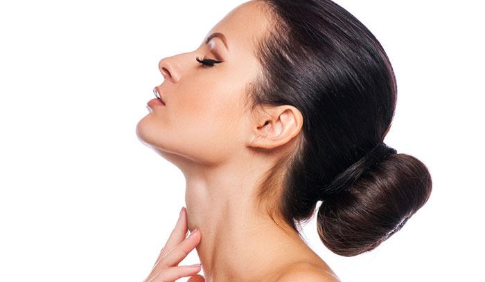 چگونه پوست گردنمان را سفید کنیم؟