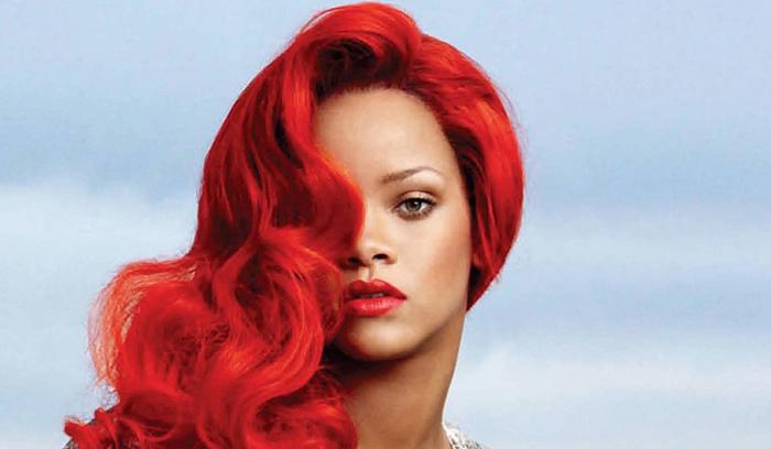آموزش رنگ موی قرمز