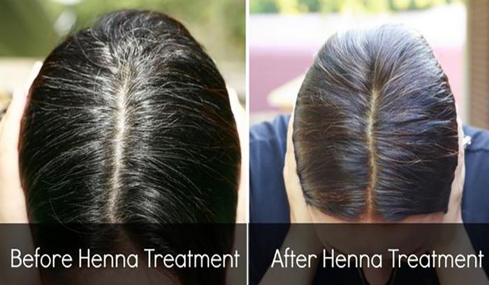 تهیه ماسک حنا و روغن کنجد برای رشد و تقویت موها