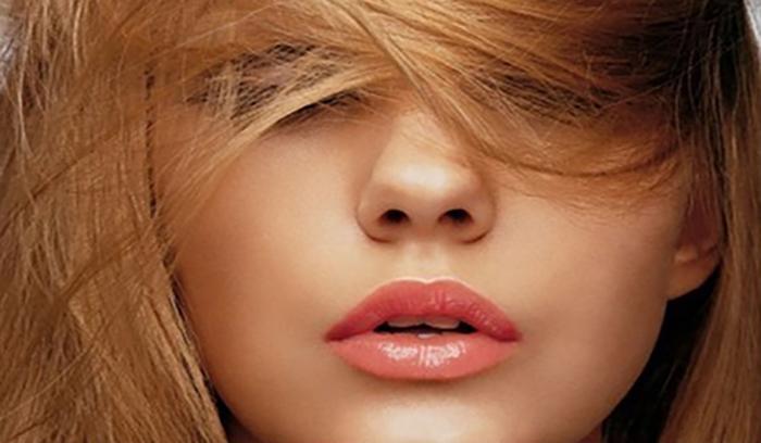 رنگ موی عسلی با هایلایت