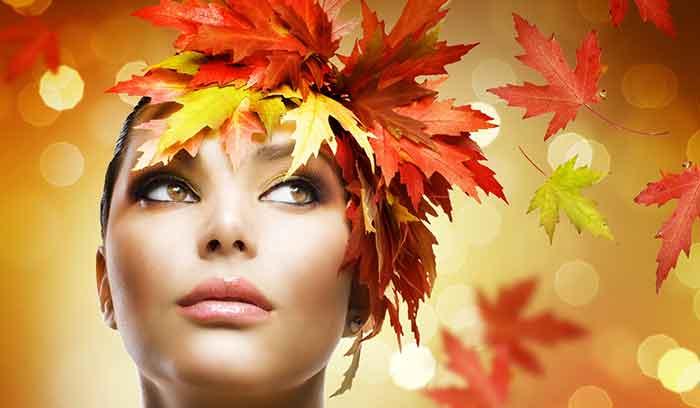 جدیدترین مدهای آرایش برای پاییز