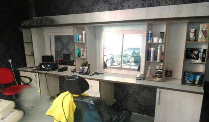 واگذاری آرایشگاه مردانه