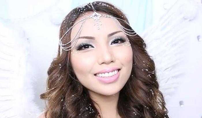آرایش فرشته برفی