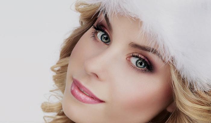 آموزش آرایش زمستانی