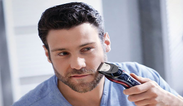اصلاح صورت با ریش تراش