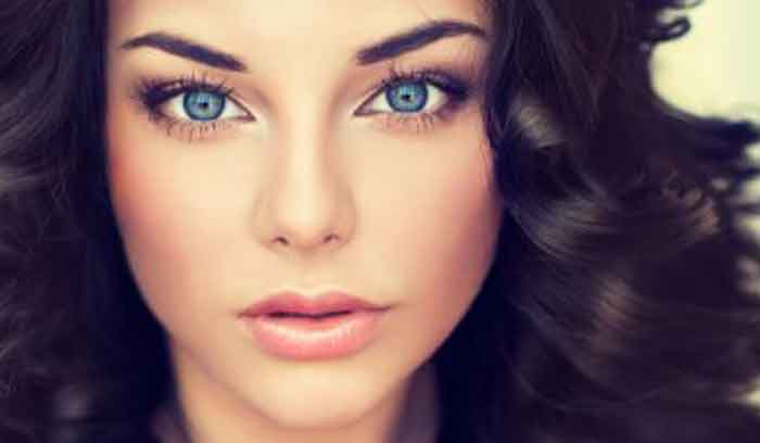 آموزش آرایش چشم آبی