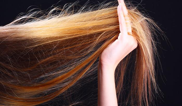 بیشترین آسیب مو