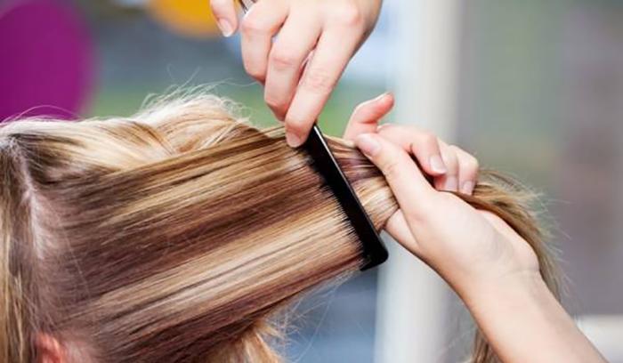 تقویت موی رنگ شده