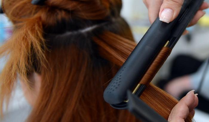 آموزش اتو کشیدن مو