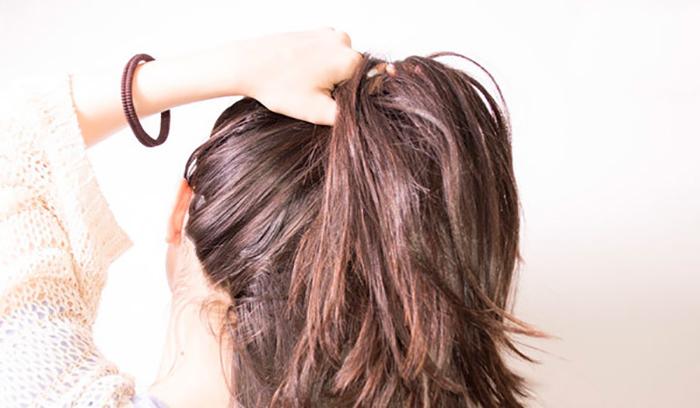 تشخیص میزان حجم مو