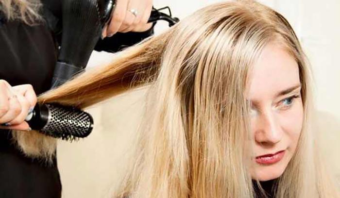 کاربرد برس های مو