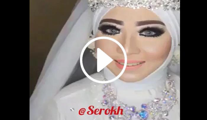 آموزش آرایش عروس با حجاب