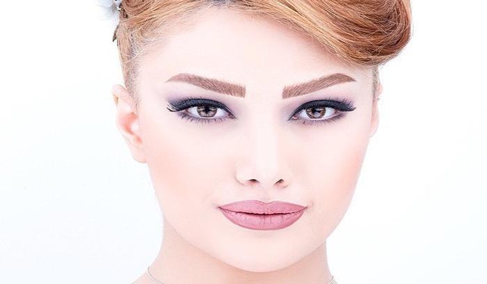 آرایش دخترانه 2018