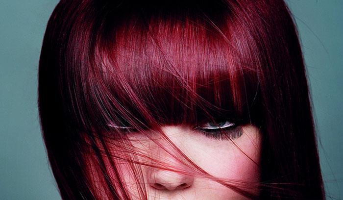 آشنایی با انواع رنگ مو قرمز