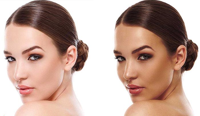 محصولات برنزه کردن پوست