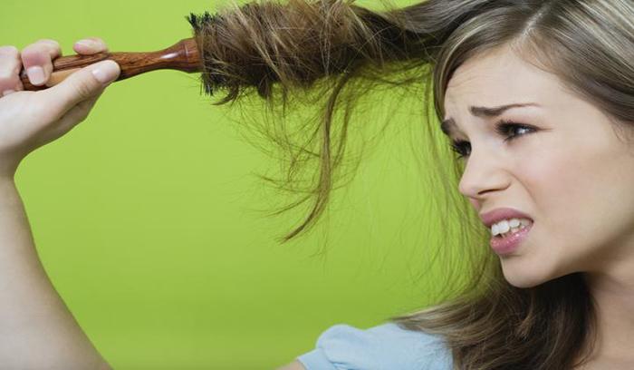 درمان موی خشک و آسیب دیده